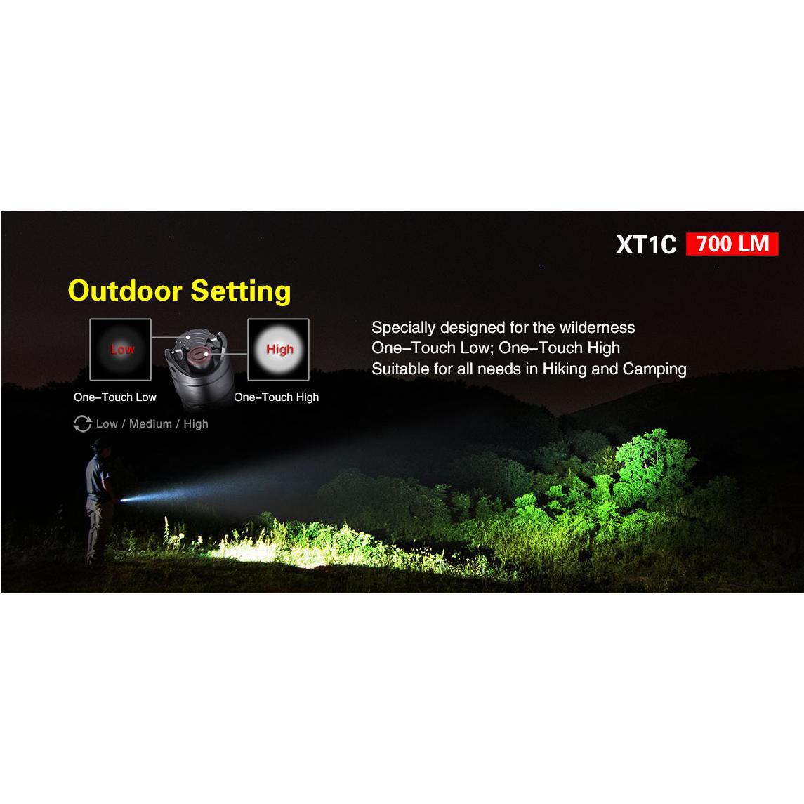 XT1C LED Taschenlampe