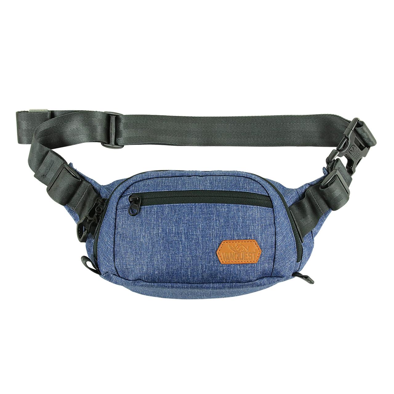 DENDRITE-SMALL Waist Pack - Mitternachts Blau